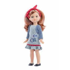 02106 Кукла Паола, 21 см