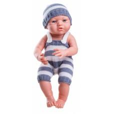 05013 Кукла Бэби в сером, 36 см.