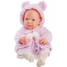 05017 Кукла Бэби в розовой накидке, 36 см