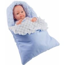 05106 Кукла Бэби в теплом голубом конверте, 32 см