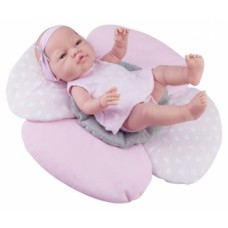 05181 Кукла Бэби с подушкой-цветок, 45 см