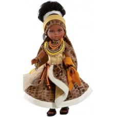 04555 Кукла Нора африканка, 32см